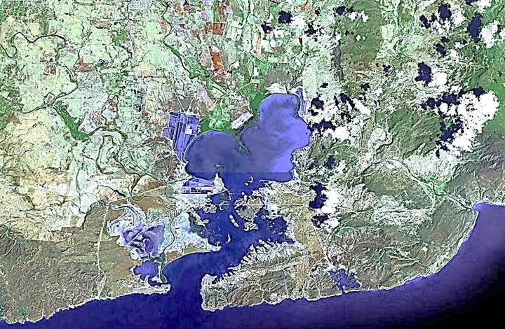 Guantanamo Γκουαντάναμο Gitmo bay base aero map