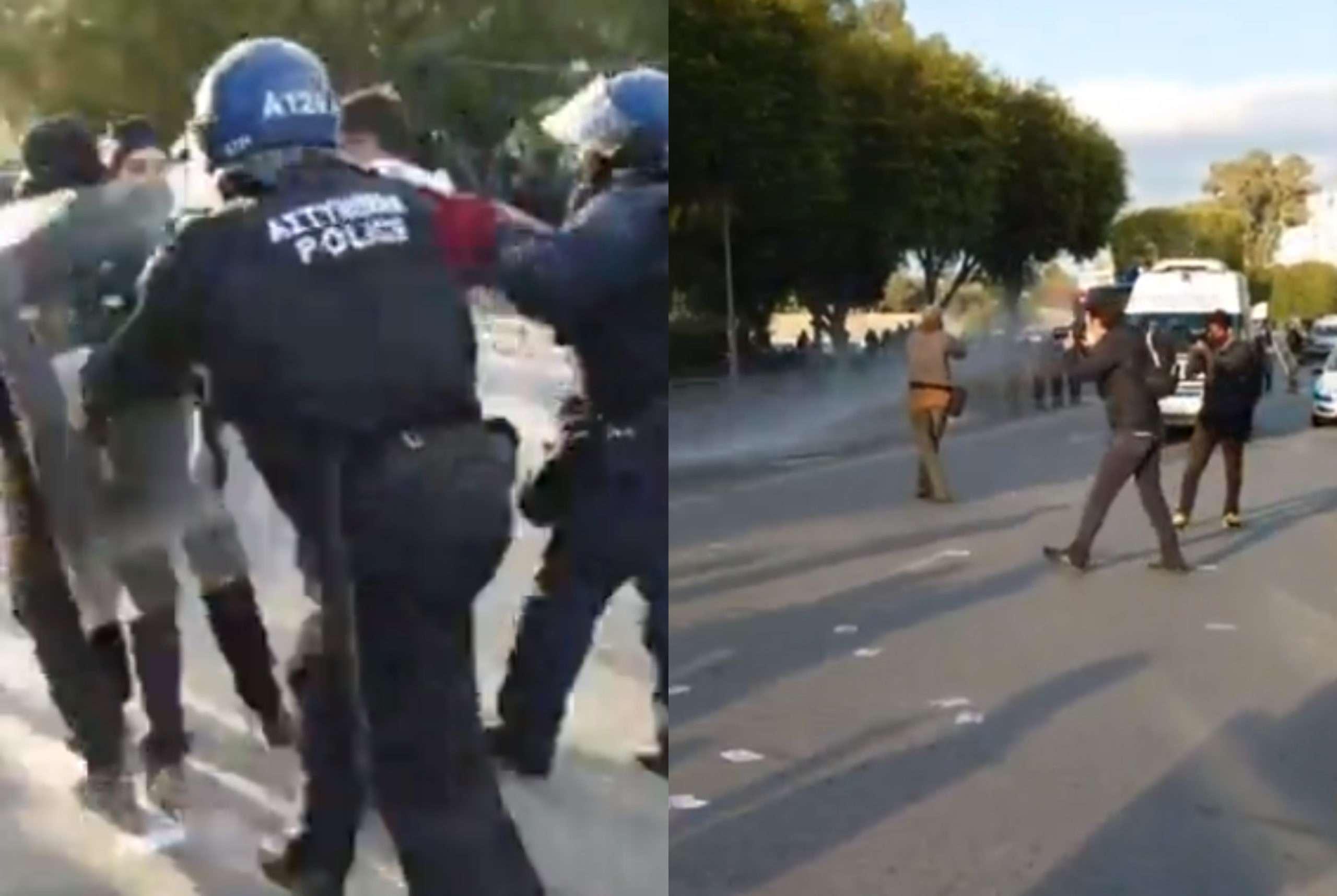 Βάναυση επίθεση της αστυνομία σε διαδήλωση στη Λευκωσία – Ανακοίνωση της ΚΟ του ΚΚΕ στην Κύπρο