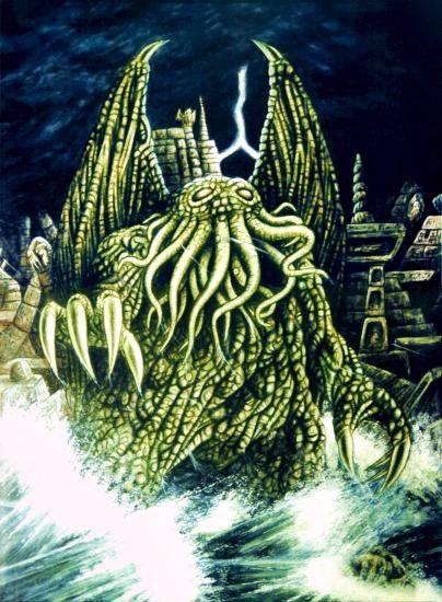 μύθος The Call of Cthulhu H. P. Lovecraft
