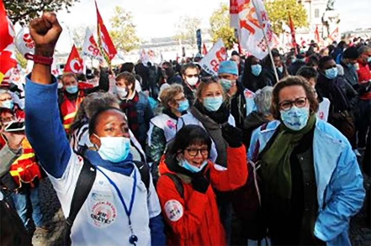 Κινητοποιήσεις υγειονομικών στη Γαλλία