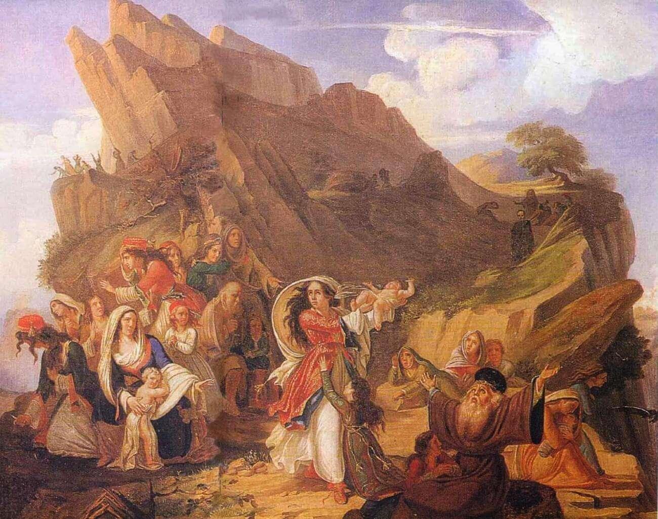 χορός του Ζαλόγγου ή Οι Σουλιώτισσες
