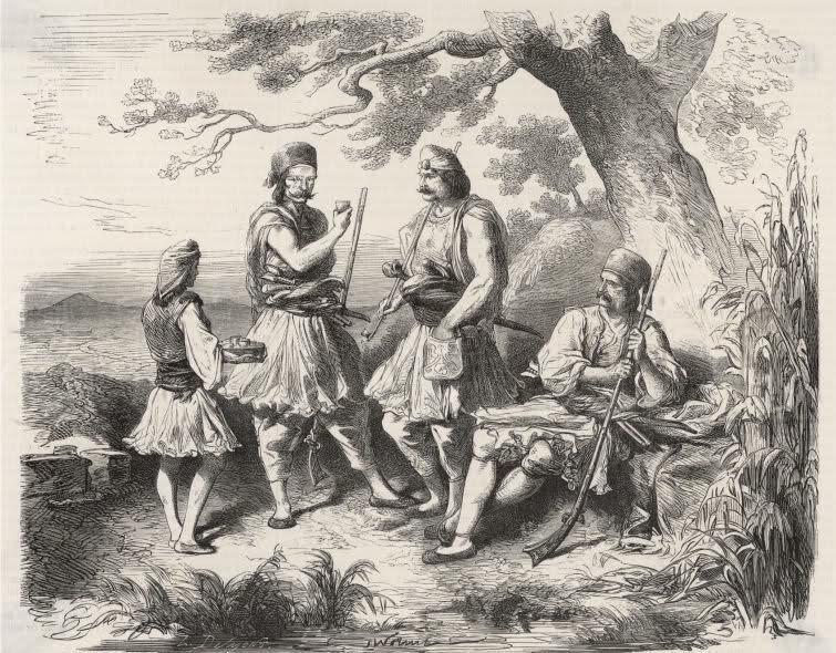 1821 κλέφτες