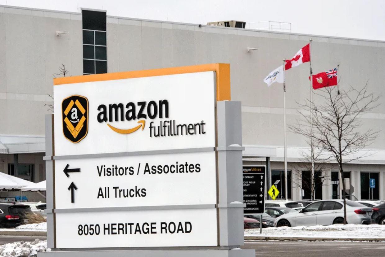 Amazon fulfillment centre Brampton