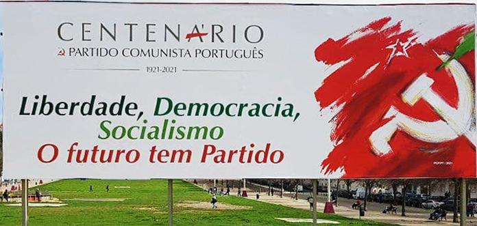 Centenário Partido Comunista Português afisa