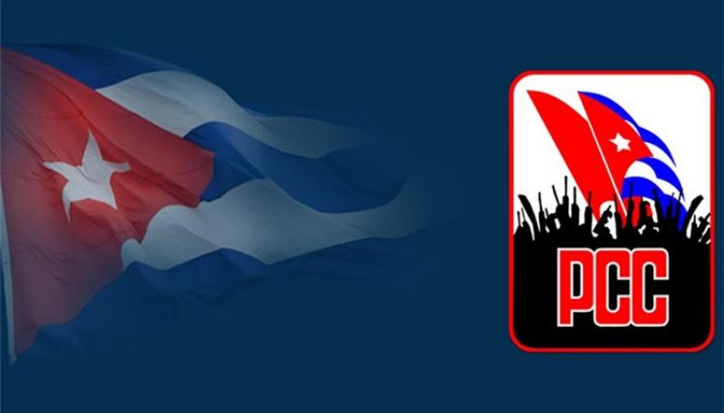 Cuba bandera PCC