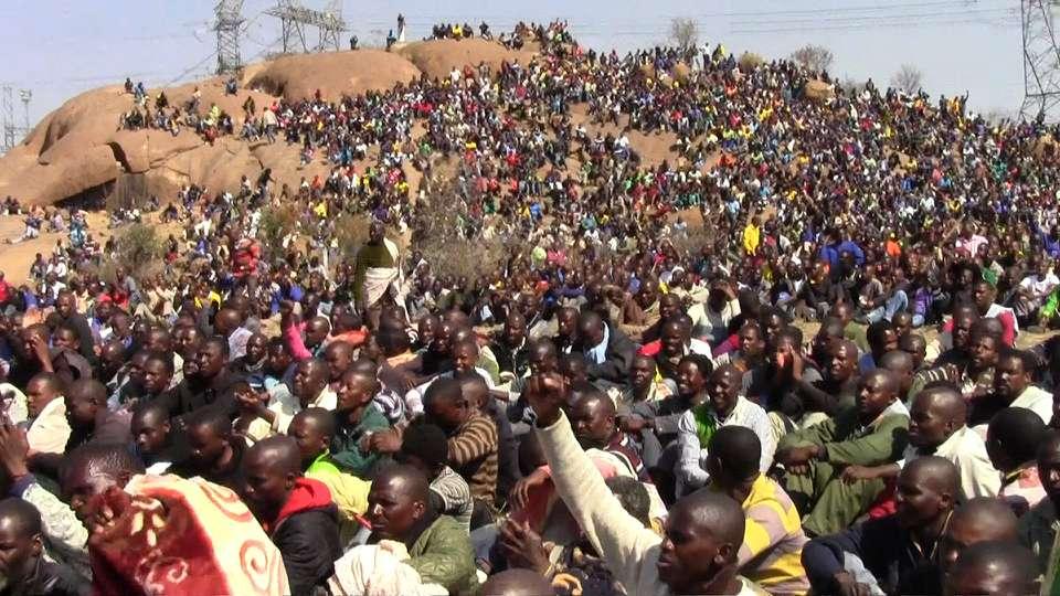 Marikana Massacre Σφαγή Marikana