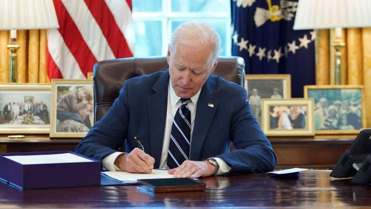 President Joe Biden signed the 19 trillion coronavirus relief package