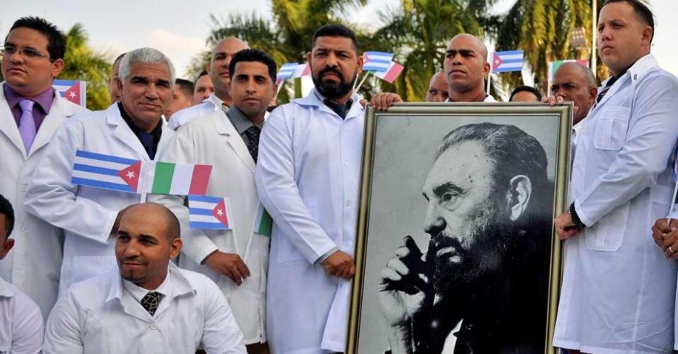 Cuba medicos Cuba salva + Fidel