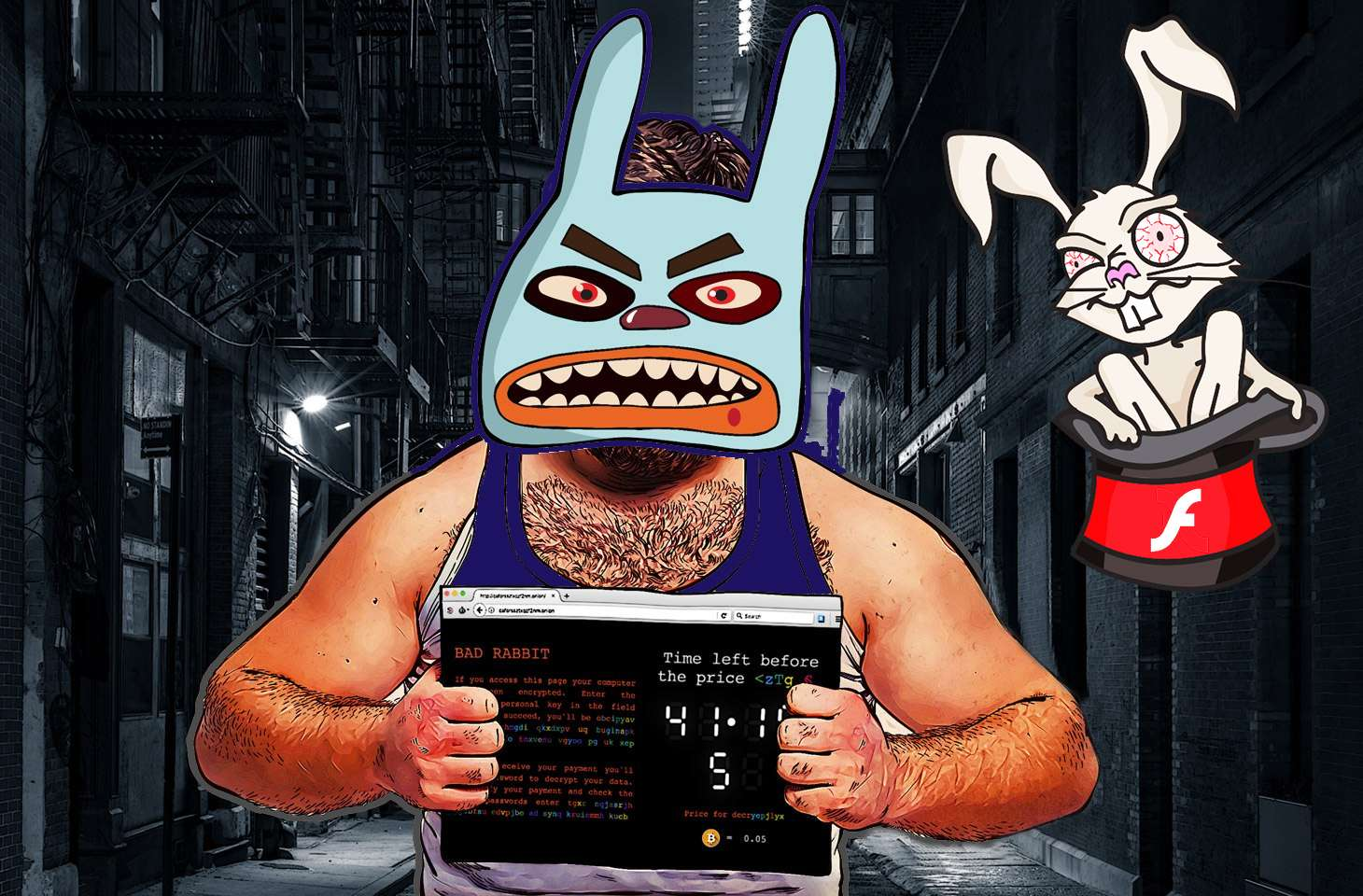 e vote Bad Bad Rabbit