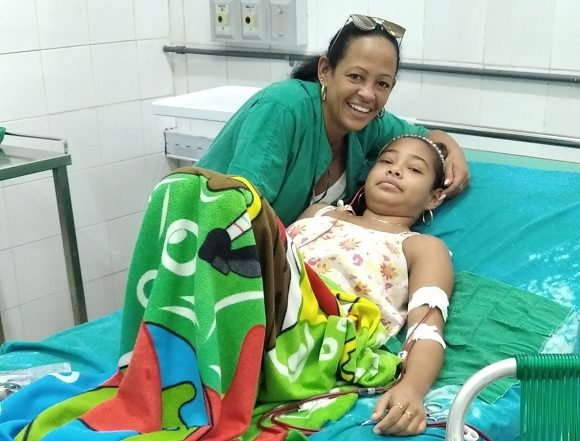 mujer hospital La fortaleza. Foto Yurama Bolaño