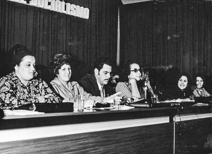 1er Congreso PCC que fue como otra Revolución Jorge Lezcano Vilma Espín y Yolanda Ferrer