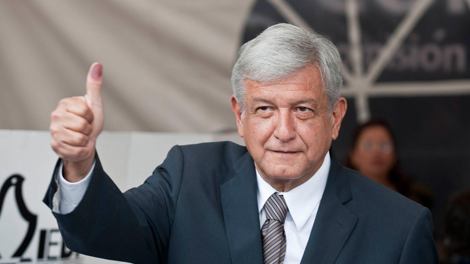 Andrés Manuel López Obrador Άντρες Μανουέλ Λόπες Ομπραδόρ