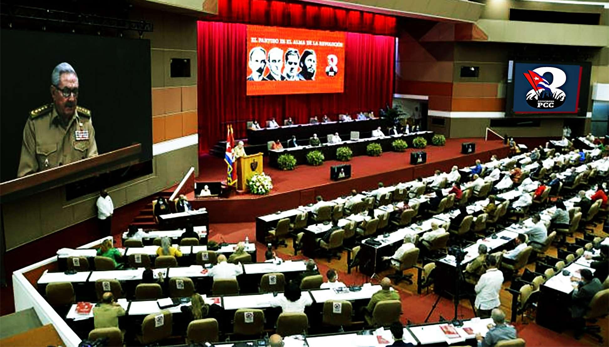 el 8vo Congreso del Partido Comunista de Cuba