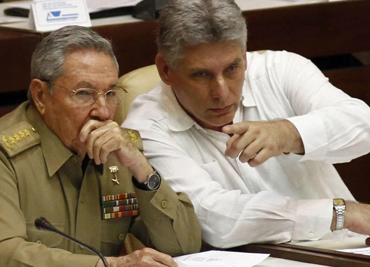 Díaz Canel Raoul Castro