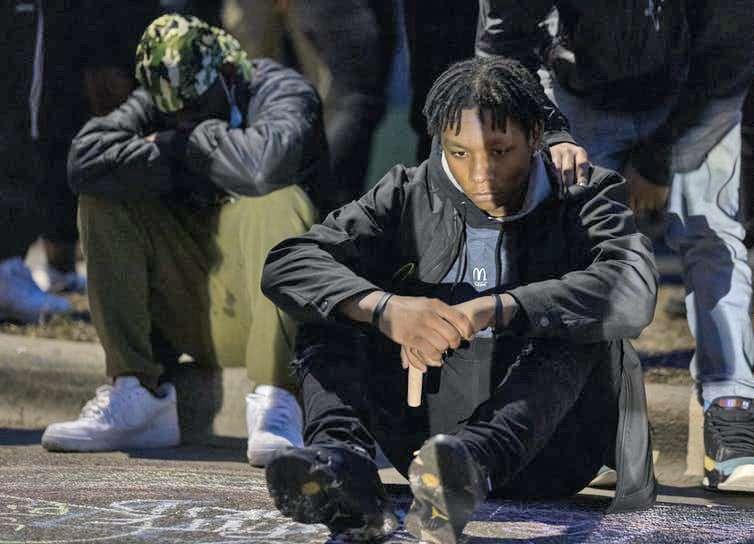 Daunte Wright Μινεάπολη ΗΠΑ θάνατος του 20χρονου Ντόντε Ράιτ στο Brooklyn Center 3