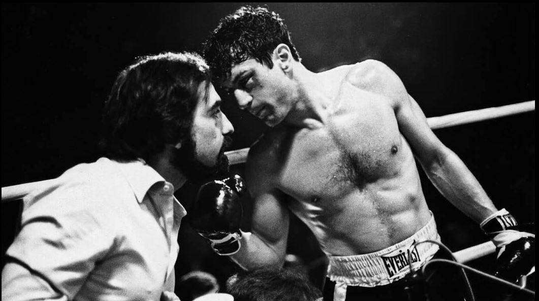Robert De Niro Martin Scorsese Raging Bull γυρίσματα