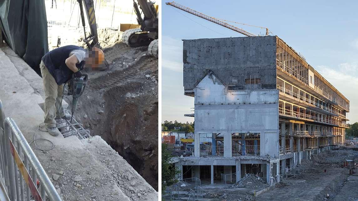 Σουηδία: 125 στους 150 οικοδόμους στον ίδιο χώρο δουλειάς δουλεύουν με μπλοκάκι και μισθούς πείνας