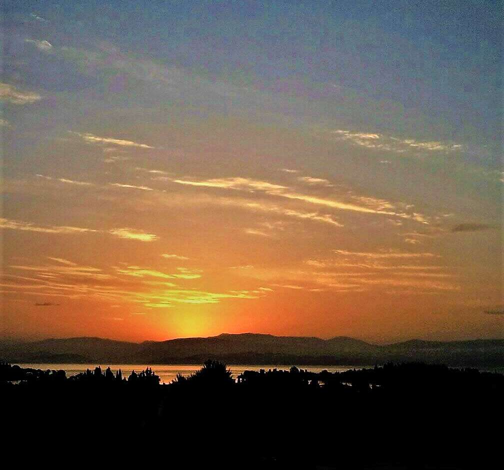 Χ Βερίγου Ηλιοβασίλεμα