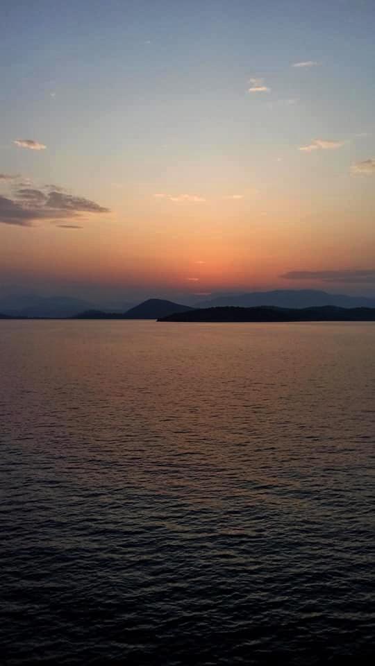 Κέρκυρα Χ Βερίγου Ηλιοβασίλεμα