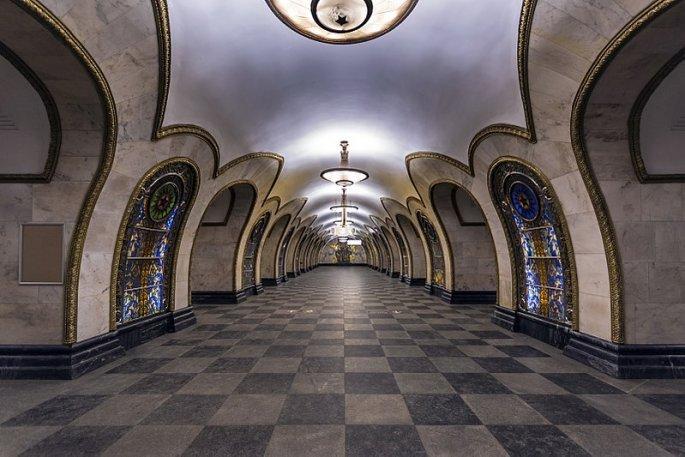 Μετρό novoslobodskaya