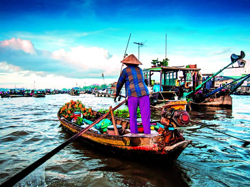 αγορές του Βιετνάμ είναι στα must do
