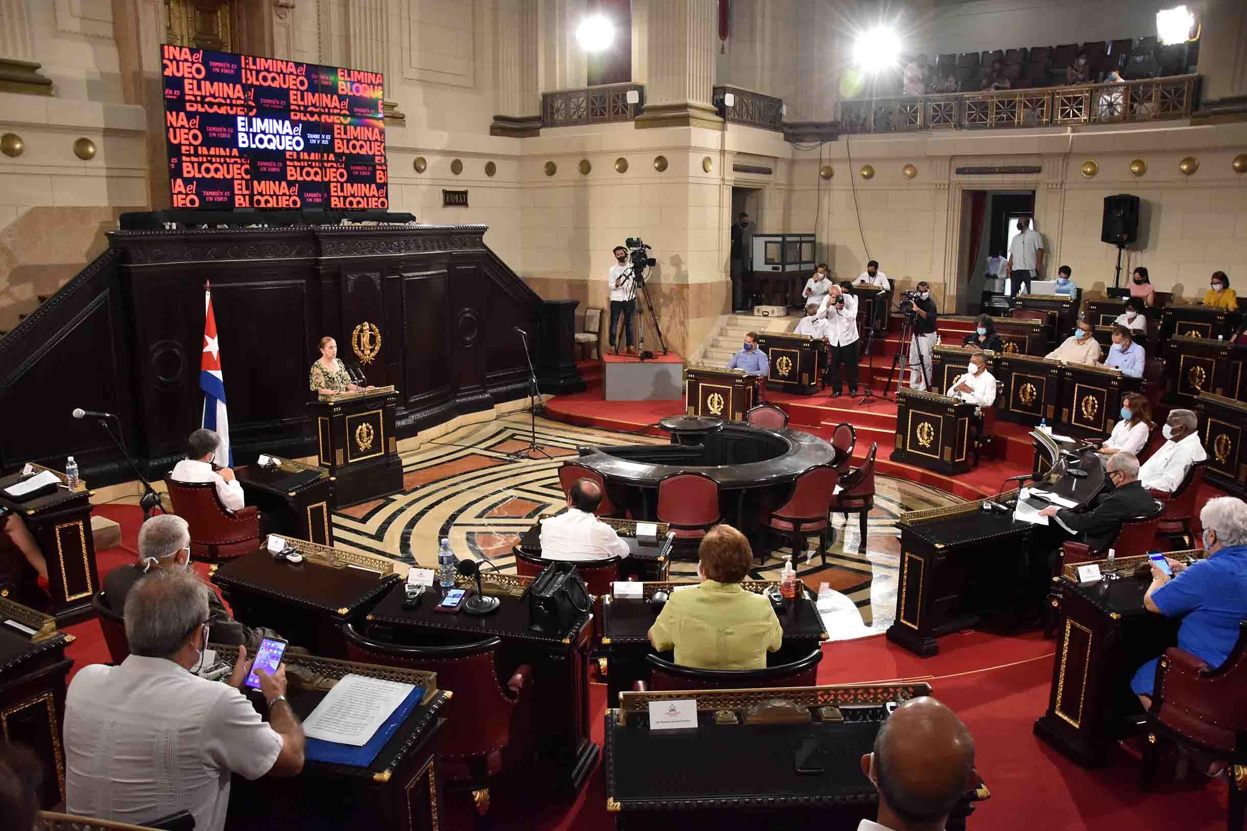 Audiencia Parlamentaria por el Levantamiento del Bloqueo