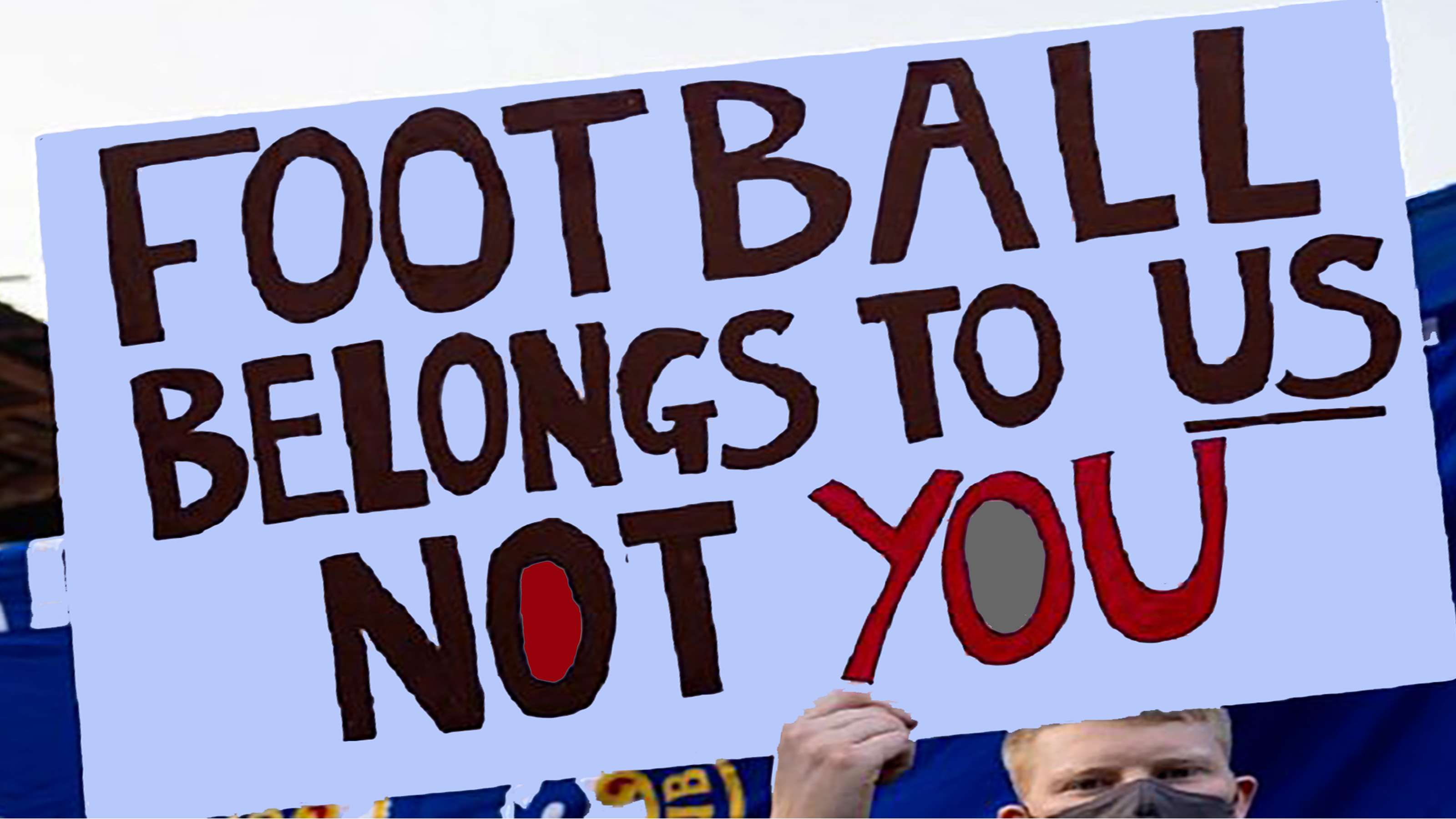 Football belonged to us not to you