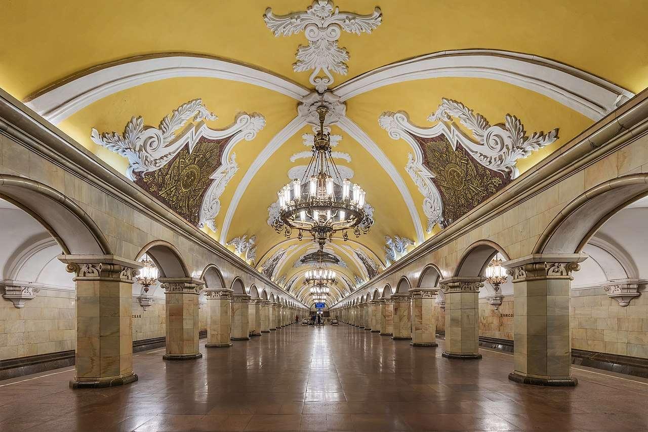 MosMetro Komsomolskaya