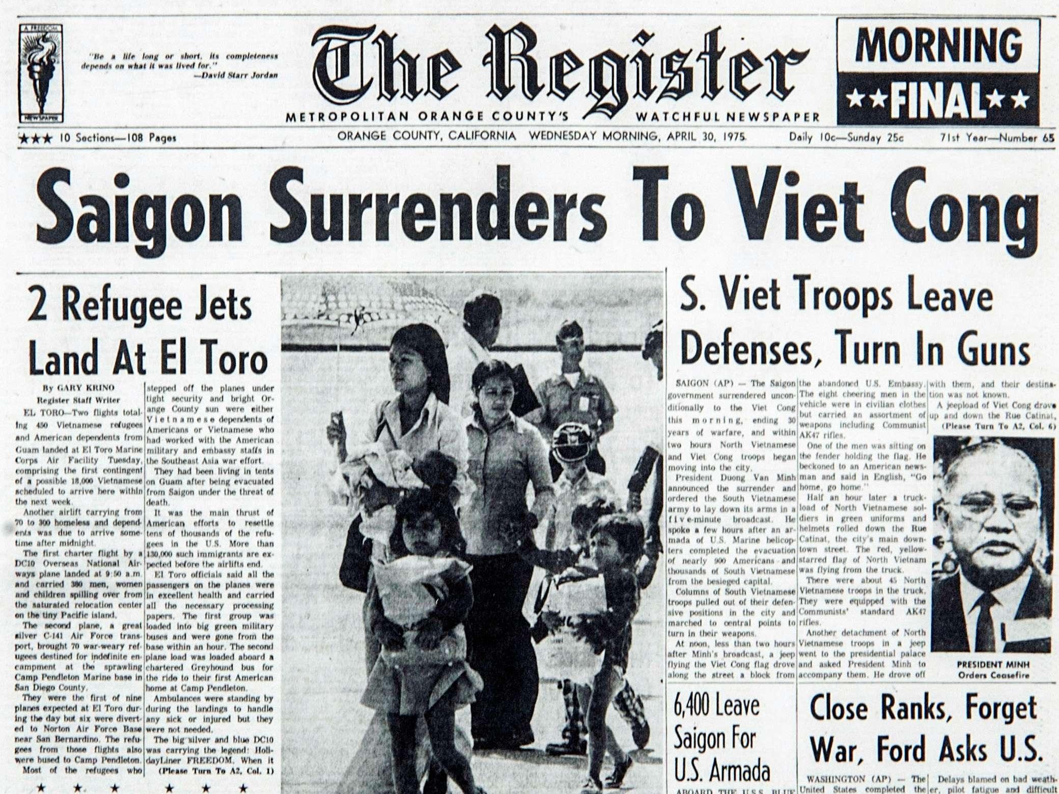 Saigon Surrenders
