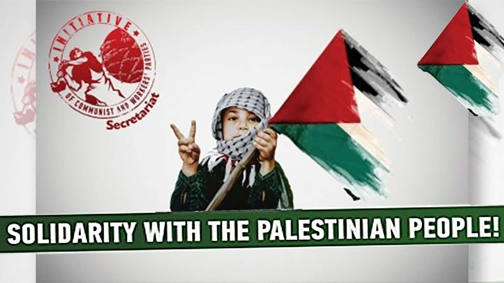 Secretariat of the European Communist Initiative Solidarity with the Palestinian people