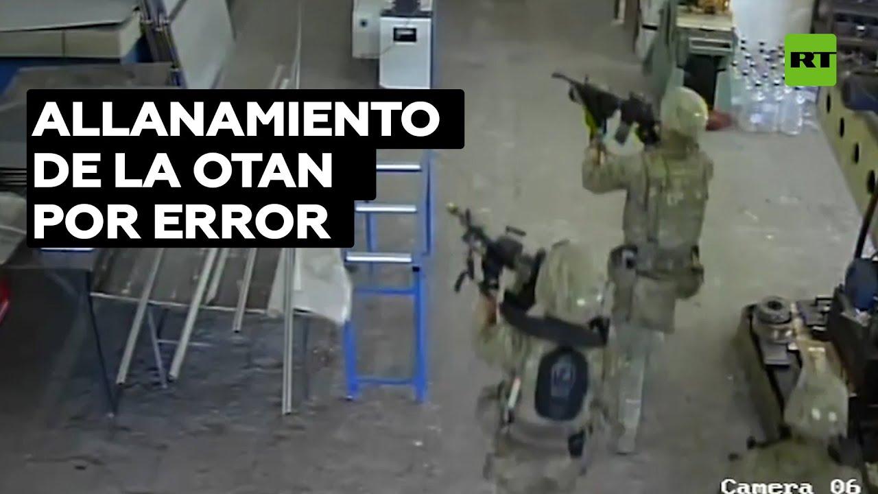 Soldados estadounidenses de la OTAN asaltan por error una fábrica en Bulgaria