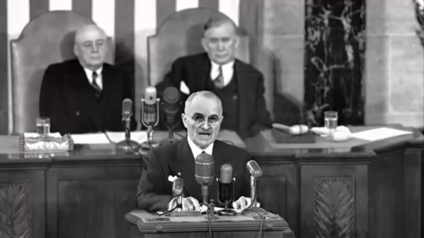 Truman Δόγμα Τρούμαν