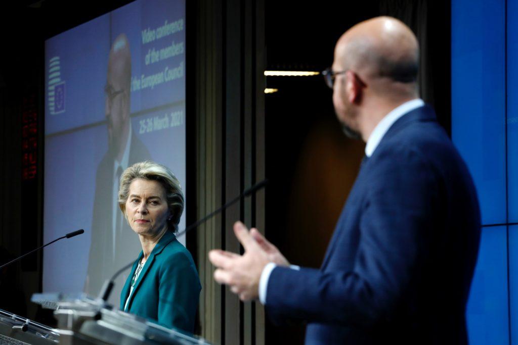 Ursula von der Leyen Charles Michel brussels Σύνταξη στα 70 και βάλε προωθεί η ΕΕ