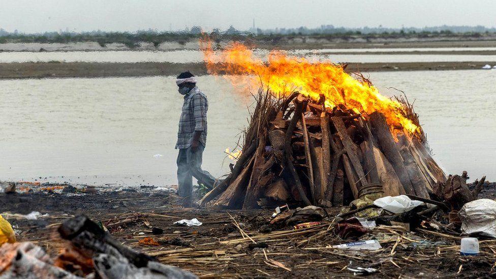 india crematorium