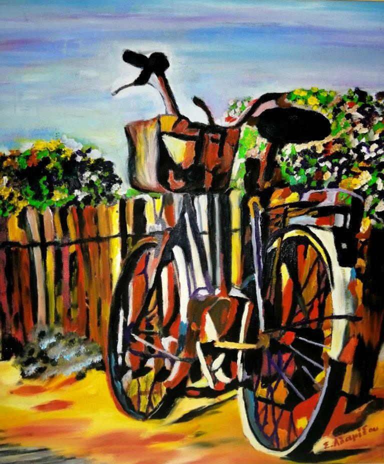 Σοφία Αδαμίδου ποδήλατο