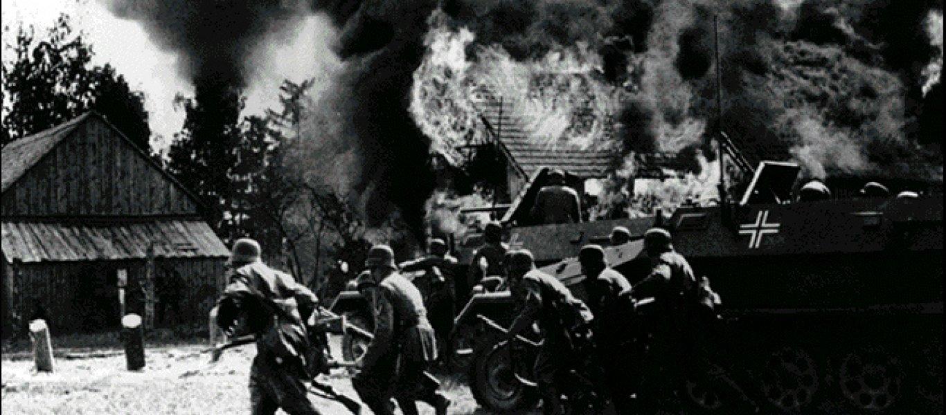 εισβολή ναζιστικής Γερμανίας στην Πολωνία naziinvade poland