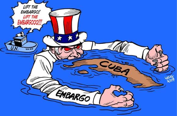 62 años de bloqueo económico de EE UU contra Cuba Cuba bloqueo contra Cuba