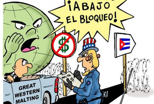 62 años de bloqueo económico de EE UU contra Cuba Llaman a movilizaciones internacionales contra el bloqueo