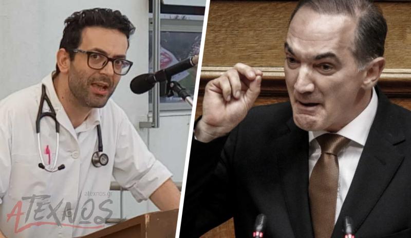 Καταγγελία της ΟΕΝΓΕ: Ο βουλευτής της ΝΔ Σαλμάς επιχείρησε να εκφοβίσει γιατρό που «τόλμησε» να αναδείξει τις κυβερνητικές ευθύνες!