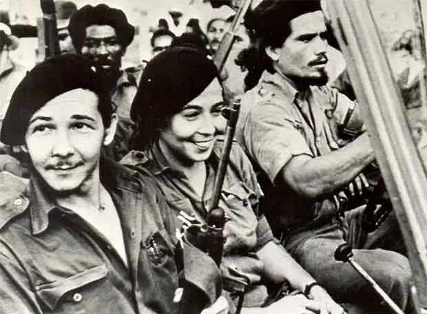 Vilma Espín Guillois + Raúl Castro Ruz