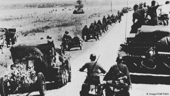 Εκατομμύρια γερμανοί στρατιώτες εισβάλλουν στην ΕΣΣΔ