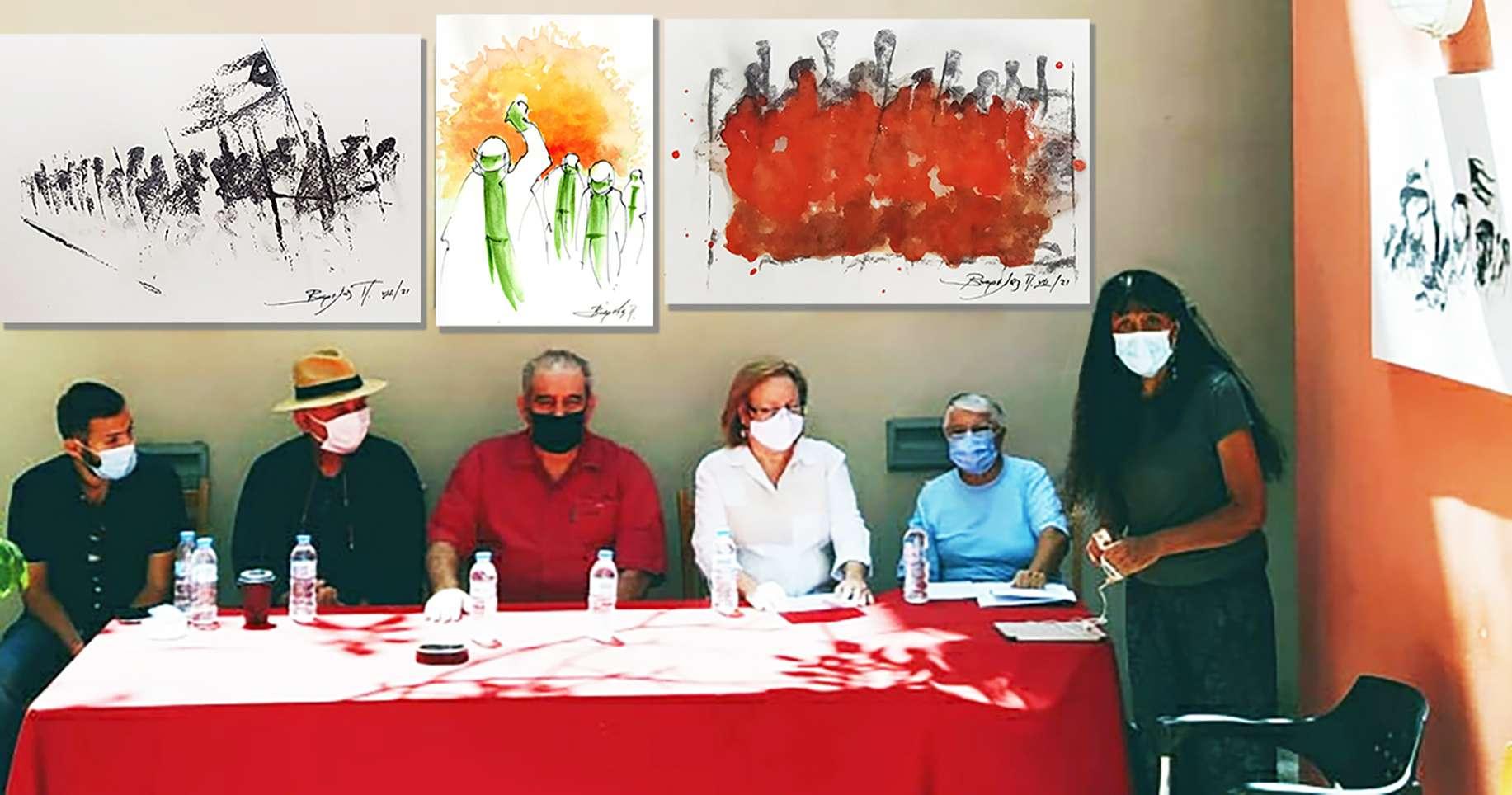 Εκδήλωση Η Κούβα δεν είναι μόνη της! Κυκλοφορεί το εικαστικό λεύκωμα του Τάκη Βαρελά στήριξης του αγώνα στο νησί της επανάστασης