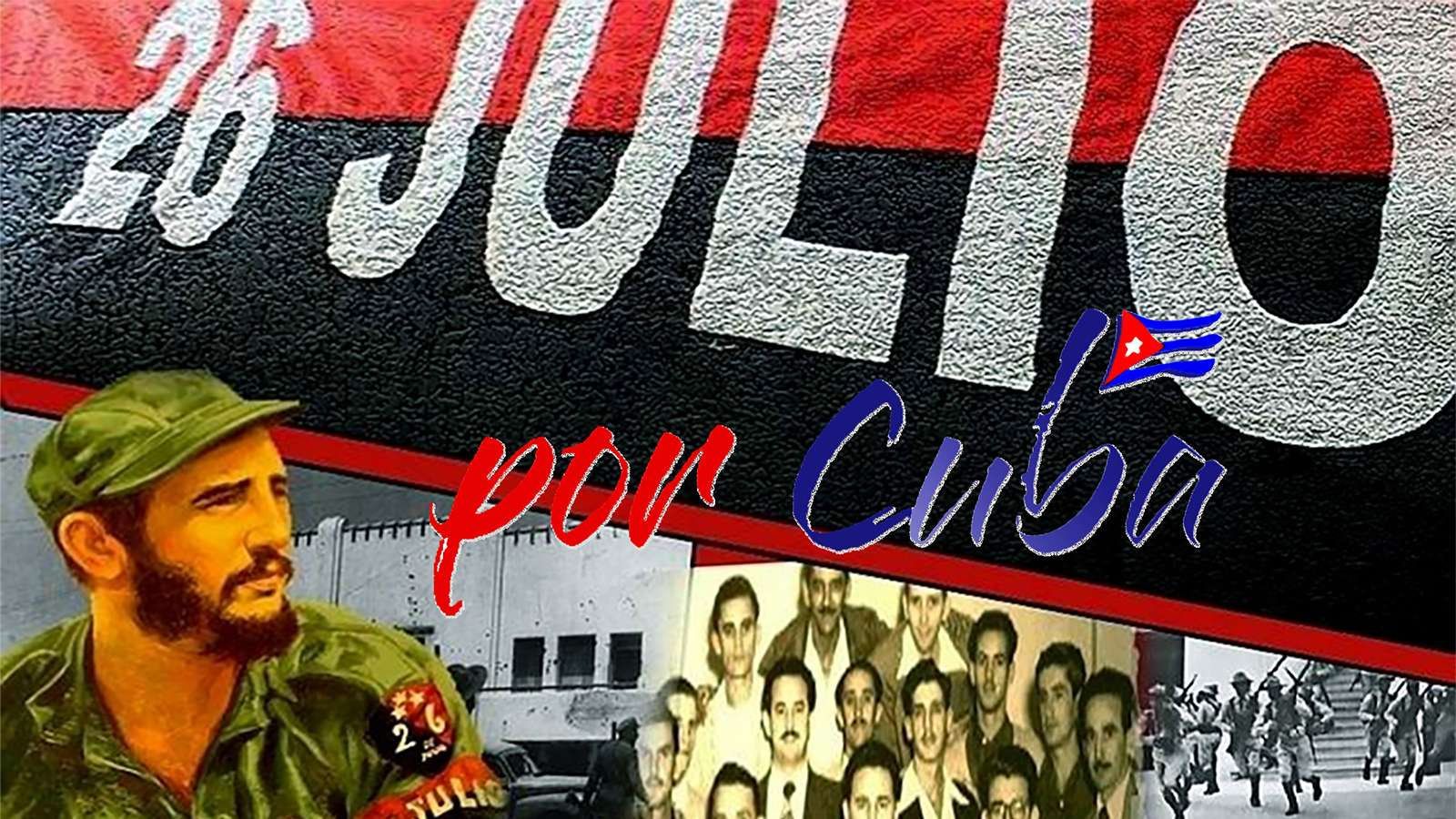 Εκδήλωση ΣΦΕΑ Por Cuba 26 Julio Moncada