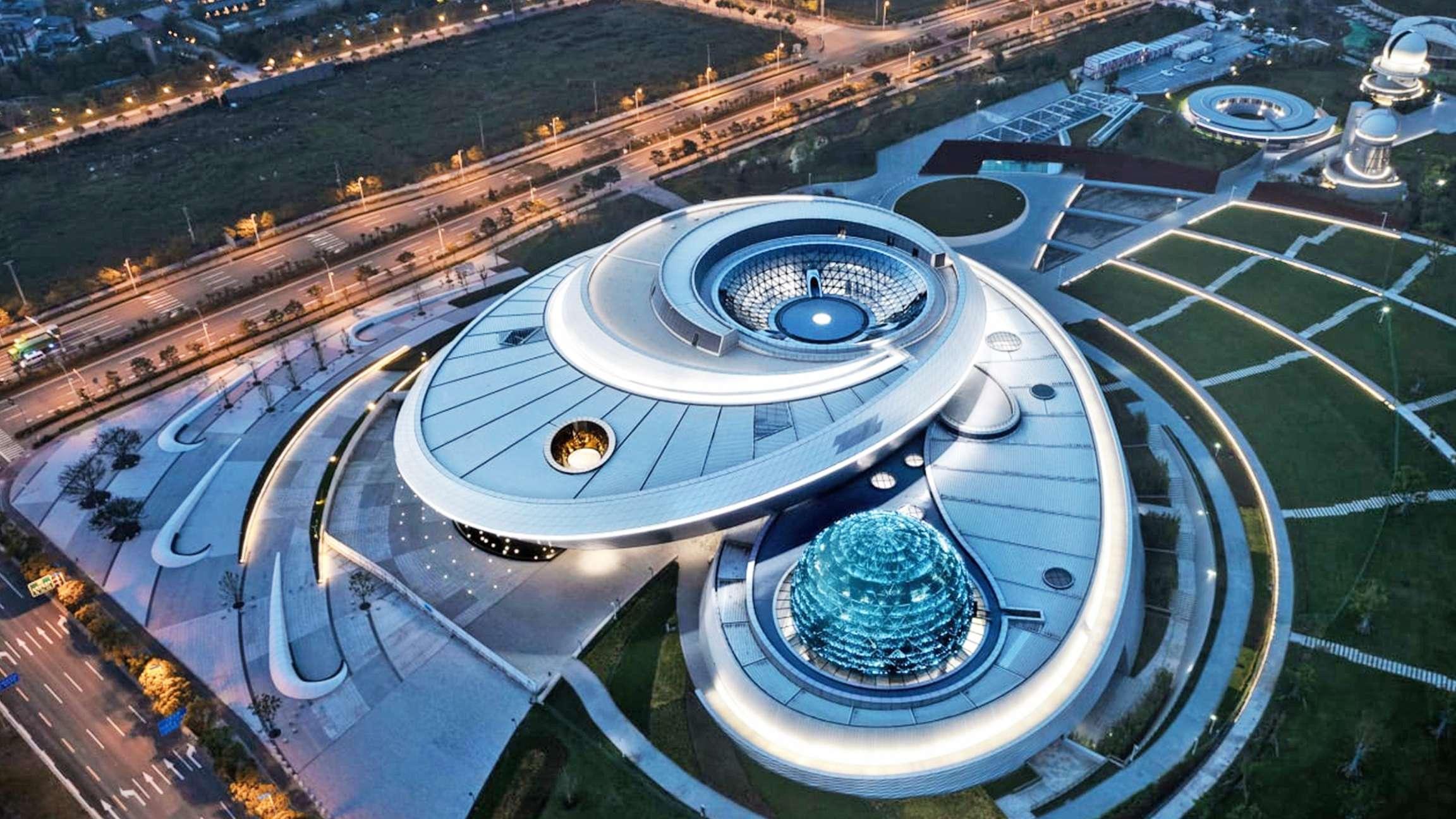 Στη Σαγκάη το μεγαλύτερο μουσείο αστρονομίας στον κόσμο υποδέχεται το κοινό