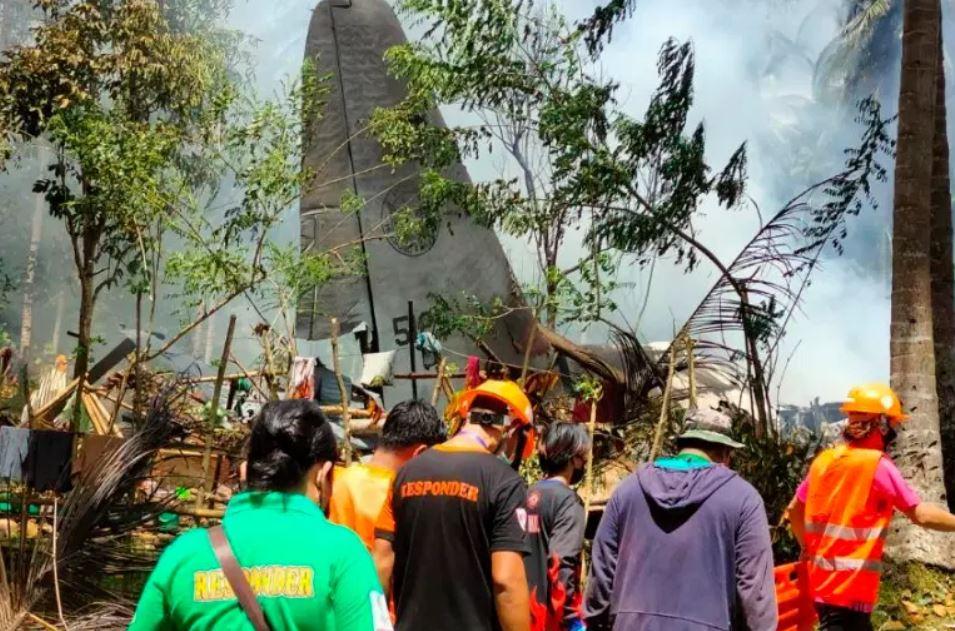 Συντριβή αεροσκάφους C 130 στις Φιλιππίνες
