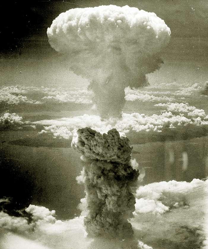 Το πυρηνικό μανιτάρι στο Ναγκασάκι