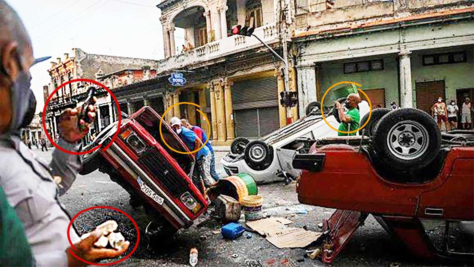 Cuba ΚΟΥΒΑ Οι αρχές θα επιβάλουν το νόμο φτάνοντας στους υποκινητές και τους διοργανωτές