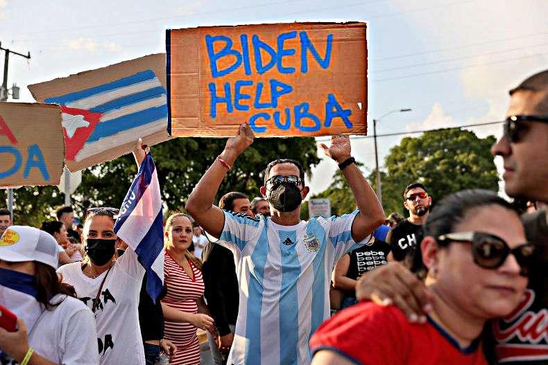 Cuba Biden Help _Μπάιντεν Βοήθεια!