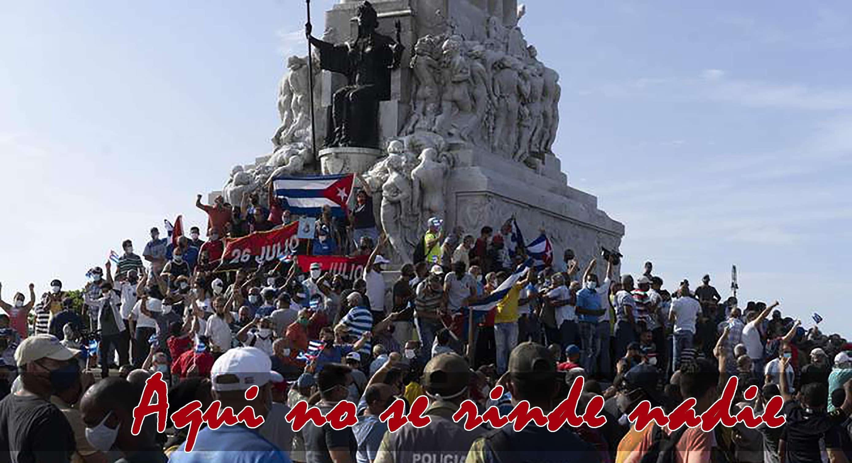 Cuba Si ¡Aqui no se rinde nadie