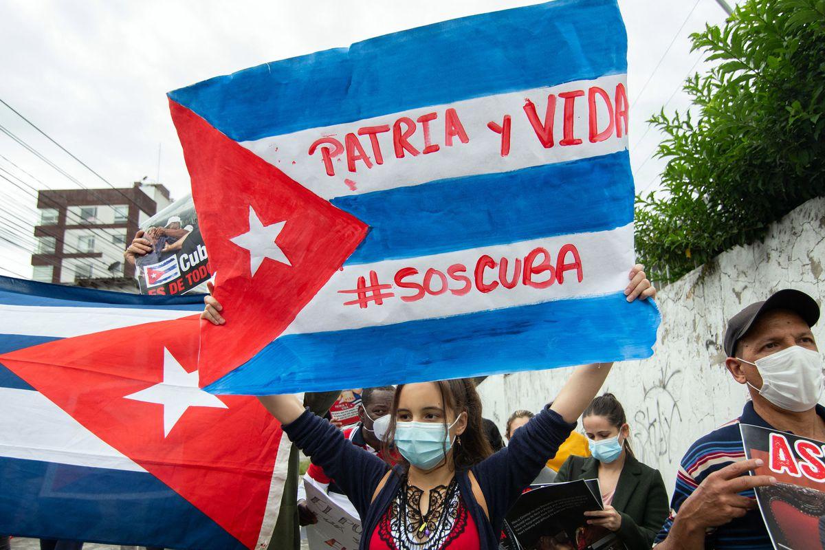 Cuba democracia SOS Cuba